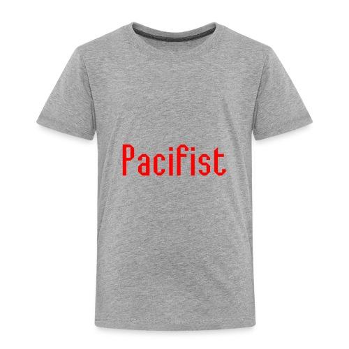 Pacifist T-Shirt Design - Toddler Premium T-Shirt