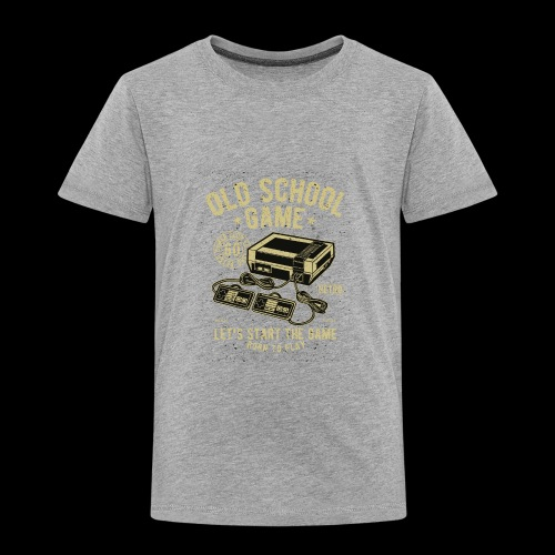 Old School Gamer - Toddler Premium T-Shirt