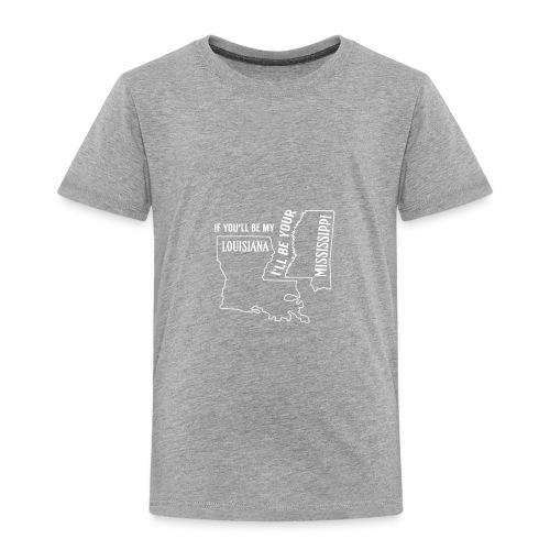 Louisiana_Mississippi_Design - Toddler Premium T-Shirt