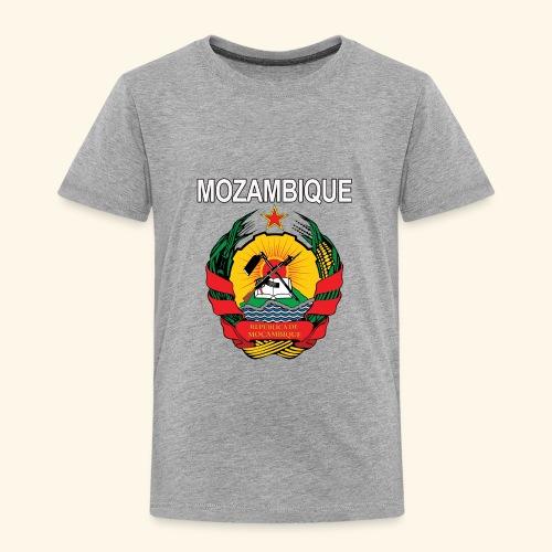 Mozambique coat of arms national design - Toddler Premium T-Shirt