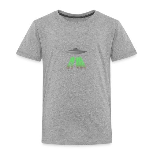 ET 808 'UFO Green' Logo - Toddler Premium T-Shirt