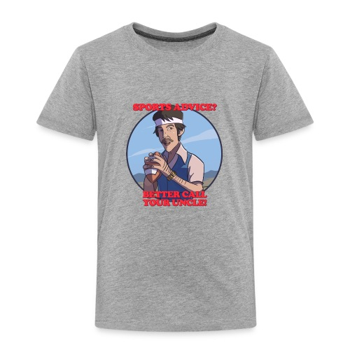 Uncle Odds Fantasy Football Player DFS - Toddler Premium T-Shirt