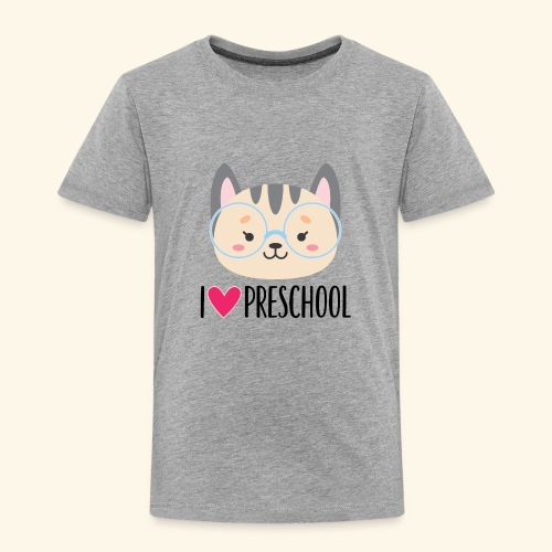 Preschool 1st Day of School - Toddler Premium T-Shirt