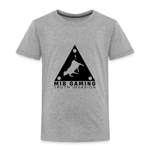 MIB LOGO: TRUTH INVASION TRIANGLE UFO - Toddler Premium T-Shirt