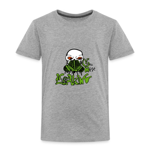 Leaking Gas Mask - Toddler Premium T-Shirt