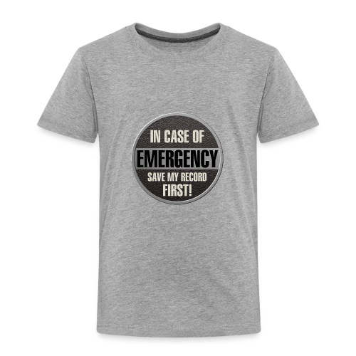 case record - Toddler Premium T-Shirt