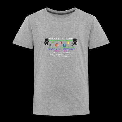 White Ninjas - Toddler Premium T-Shirt