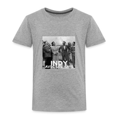 Indy avec les amis - Toddler Premium T-Shirt