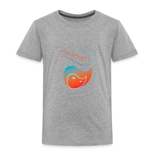 Curved Creativity - Toddler Premium T-Shirt