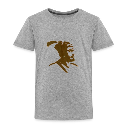 King Shivaji ART by HD Design - Toddler Premium T-Shirt