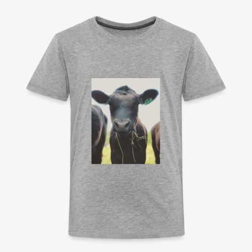 Pretty Cow - Toddler Premium T-Shirt