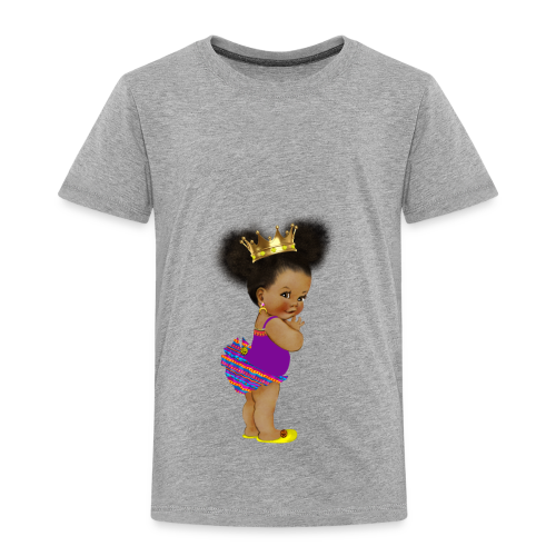 RPAfricanPrincess5-AfroPuffs - Toddler Premium T-Shirt