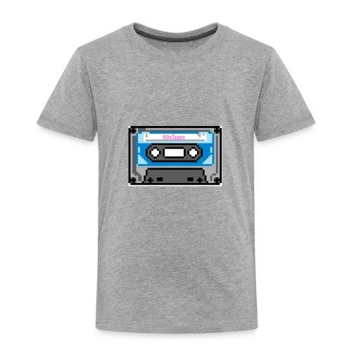 90s Tapes Brand Logo - Toddler Premium T-Shirt