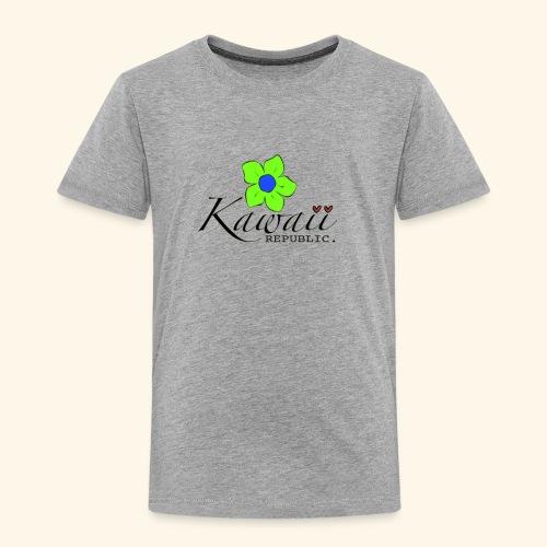 Welcome Spring with Kawaii Republic - Toddler Premium T-Shirt