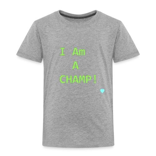 Champion - Toddler Premium T-Shirt