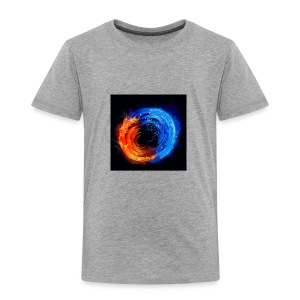 swirling fire and water 310265 - Toddler Premium T-Shirt