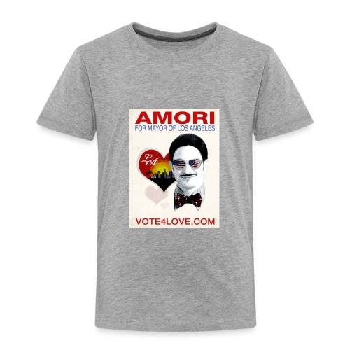 Amori for Mayor of Los Angeles eco friendly shirt - Toddler Premium T-Shirt