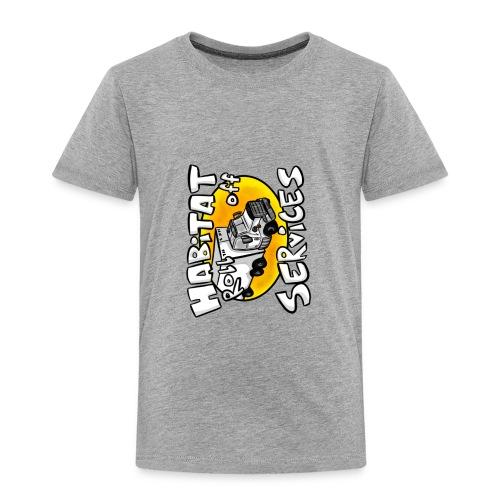 Habitat rolloff - Toddler Premium T-Shirt