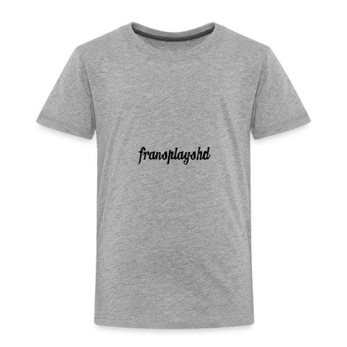 FransPlaysHD Merch - Toddler Premium T-Shirt