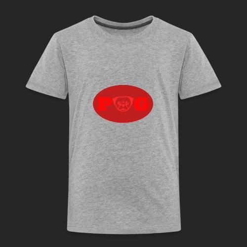 Pugg Clothing Logo Red - Toddler Premium T-Shirt