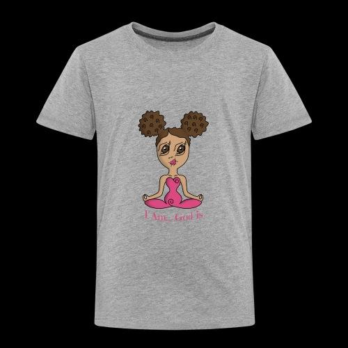 I Am God is Light - Toddler Premium T-Shirt