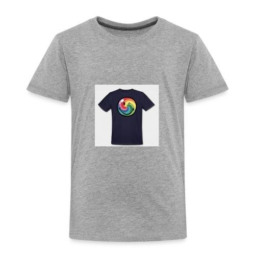 winking smile - Toddler Premium T-Shirt