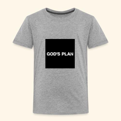 God's Plan - Toddler Premium T-Shirt