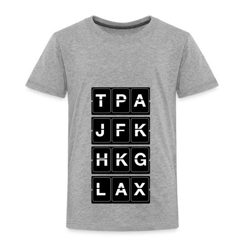 Catching Flights Tee - Toddler Premium T-Shirt