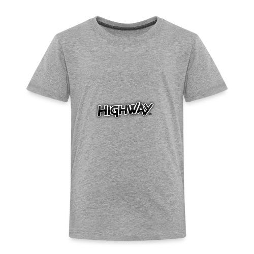 Highway design 1 dk - Toddler Premium T-Shirt