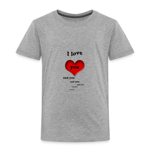 Valentin Love - Toddler Premium T-Shirt