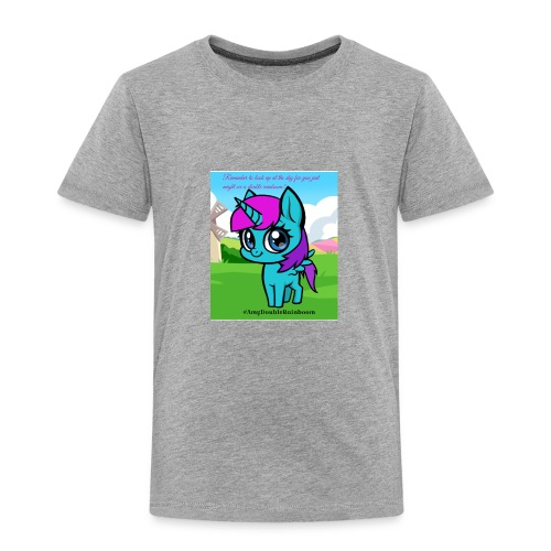 Cute rainboom - Toddler Premium T-Shirt