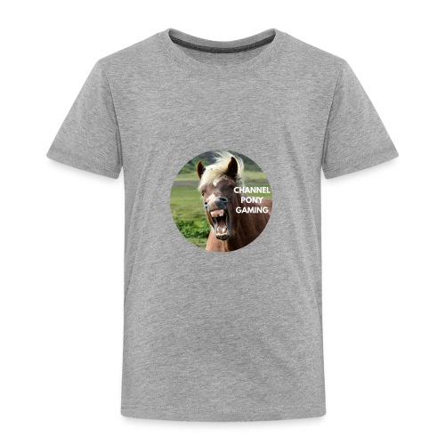 Channel Pony Gaming - Toddler Premium T-Shirt