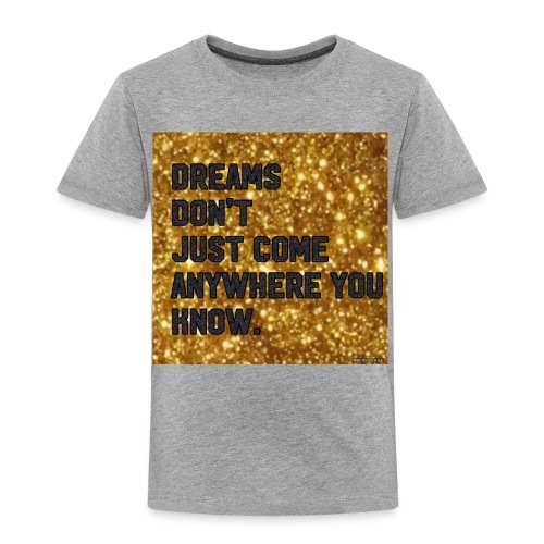 dreamy designs - Toddler Premium T-Shirt