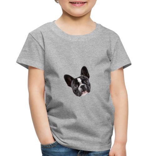 French Bulldog Puppy Face - Toddler Premium T-Shirt