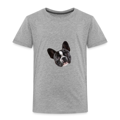 French Bulldog Puppy Face - Toddler Premium T-Shirt