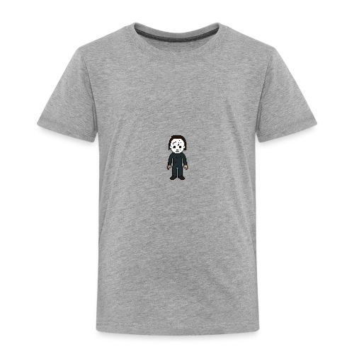 Michael Myers Pixel Art - Toddler Premium T-Shirt