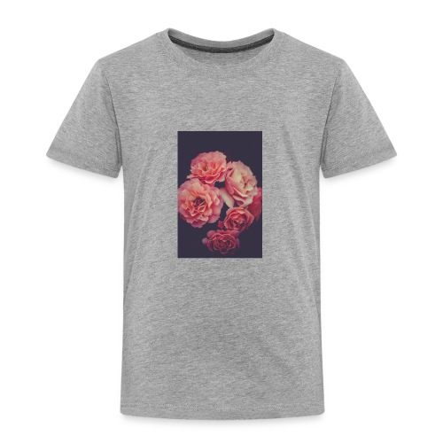 Flower love ❤️ - Toddler Premium T-Shirt