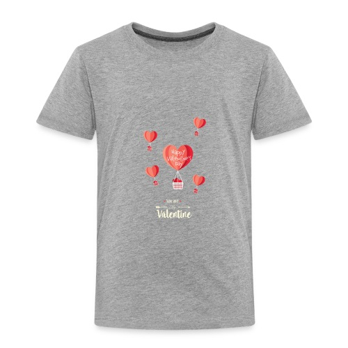 Happy Valentines Day - Toddler Premium T-Shirt