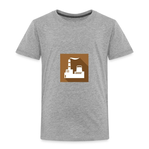 flat factory vector - Toddler Premium T-Shirt