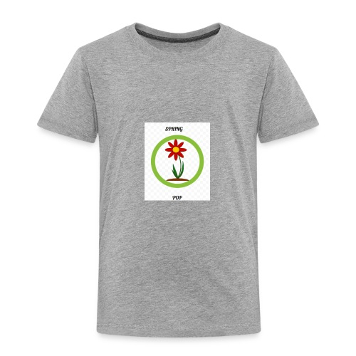 Spring pop - Toddler Premium T-Shirt