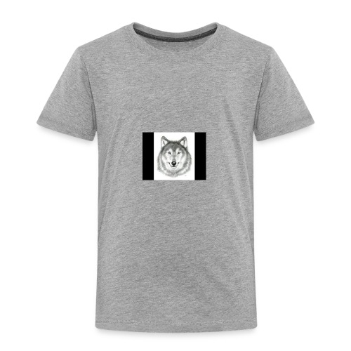 Wolf Gaming Live Stream Shirt - Toddler Premium T-Shirt