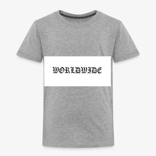 wordlwide - Toddler Premium T-Shirt