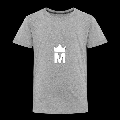 White Majesty Logo - Toddler Premium T-Shirt