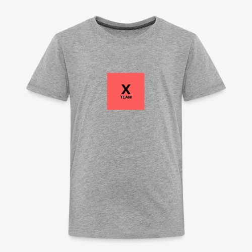 X Team 'Red' - Toddler Premium T-Shirt