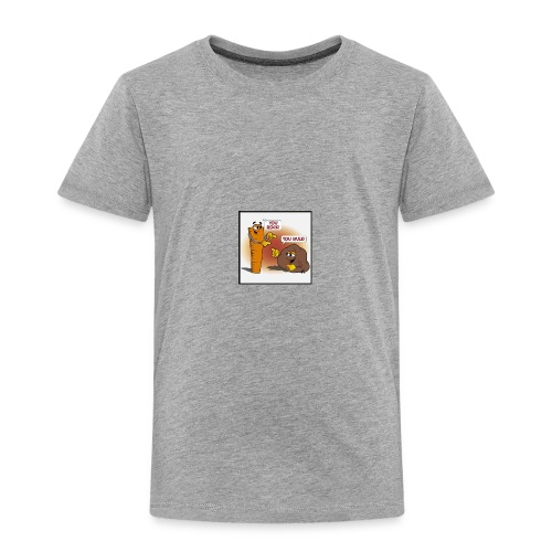 Rock And Ruler - Toddler Premium T-Shirt