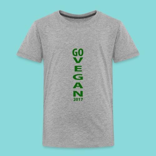 Go_Vegan_2017 - Toddler Premium T-Shirt