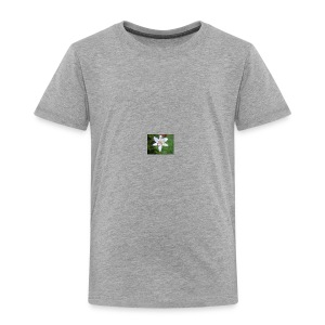 whiteflower - Toddler Premium T-Shirt