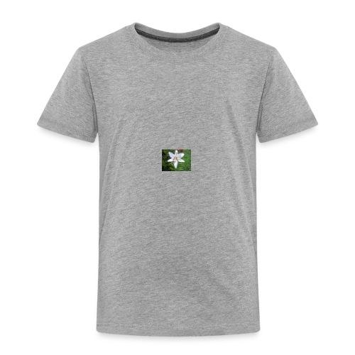 whiteflower - Toddler Premium T-Shirt