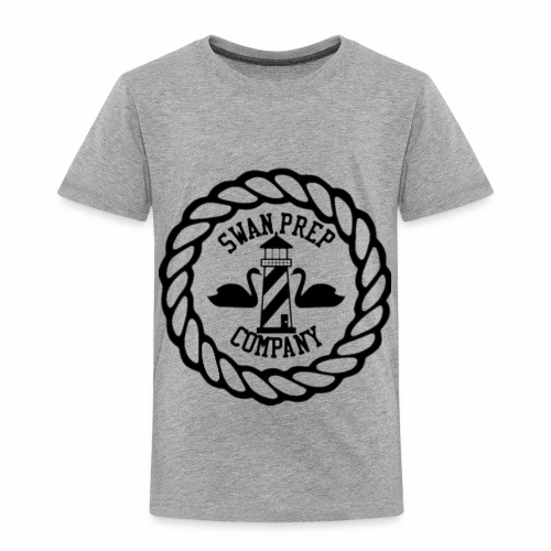 Swan Prep Badge Classic Design - Toddler Premium T-Shirt