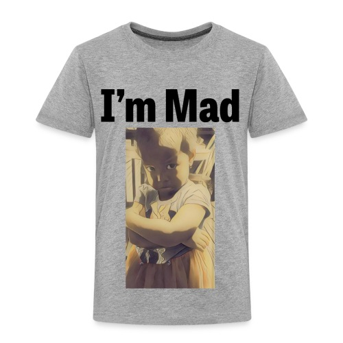 design 302536820 13610293 christen olivia sadface - Toddler Premium T-Shirt